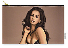 Anne Hathaway Painting Carry-all Pouch