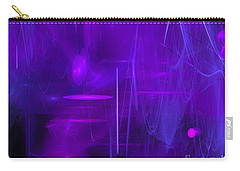 Carry-all Pouch featuring the digital art Another Dimension by Victoria Harrington