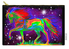 Another Rainbow Stallion Carry-all Pouch by Nick Gustafson