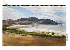 Carry-all Pouch featuring the photograph Antelope Island by Belinda Greb