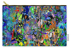 Carry-all Pouch featuring the digital art Anthyropolitic 1 by David Lane