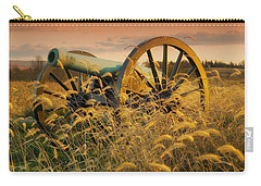 Carry-all Pouch featuring the photograph Antietam Maryland Cannon Battlefield Landscape by Paul Fearn