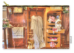 Antique Armoire Carry-all Pouch by Liane Wright