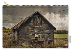 Carry-all Pouch featuring the photograph Antique Barn by Alana Ranney