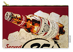 Antique Budweiser Signage Carry-all Pouch