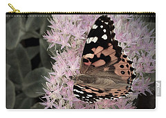 Carry-all Pouch featuring the photograph Antique Monarch by Photographic Arts And Design Studio