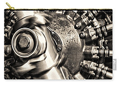 Antique Plane Engine Carry-all Pouch