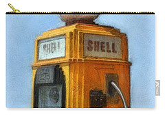 Antique Shell Gas Pump Carry-all Pouch