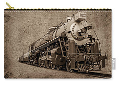 Antique Train Carry-all Pouch by Doug Long