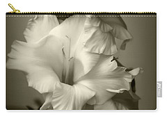 Antiqued Gladiolus Carry-all Pouch