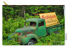 Antiques Just Around The Corner Carry-all Pouch by Alana Ranney