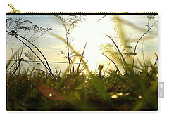 Carry-all Pouch featuring the photograph Ant's Eye View by Thomasina Durkay