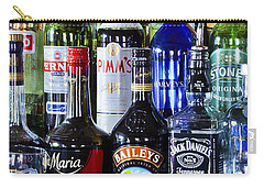 Carry-all Pouch featuring the photograph Anyone For A Drink 2 by Maj Seda
