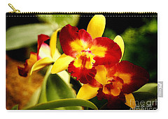 Aos Yellow Orchid 2 Carry-all Pouch
