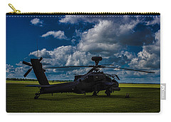 Apache Gun Ship Carry-all Pouch by Martin Newman