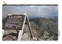Appalachian Trail Mount Katahdin Carry-all Pouch