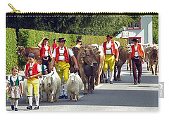 Appenzell Parade Of Cows Carry-all Pouch