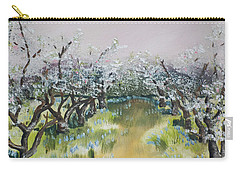 Apple Blossoms In Ellijay -apple Trees - Blooming Carry-all Pouch
