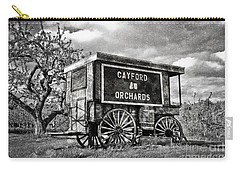 Carry-all Pouch featuring the photograph Apple Orchard by Alana Ranney