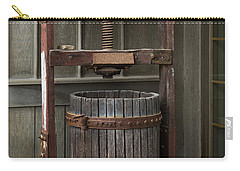 Apple Press Carry-all Pouch by Dale Kincaid