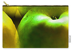 Carry-all Pouch featuring the digital art Apples by Daniel Janda