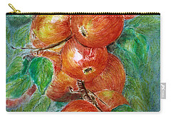 Apples Carry-all Pouch by Jasna Dragun