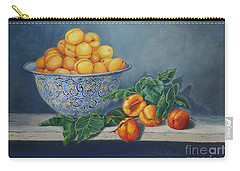 Apricots And Peaches Carry-all Pouch