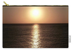 Carry-all Pouch featuring the photograph April Sunset by Amar Sheow