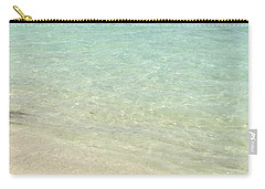Aqua Blue Waters Carry-all Pouch