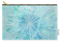 Aqua Salsify Carry-all Pouch