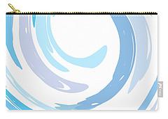Aqua Swirl Carry-all Pouch