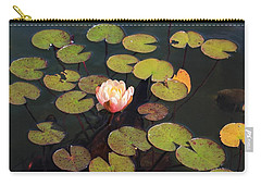 Aquatic Garden With Water Lily Carry-all Pouch