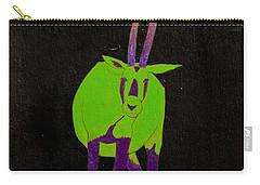 Arabian Oryx Carry-all Pouch by Stefanie Forck