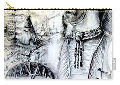 Arapaho Cheyenne Carry-all Pouch by Bernadette Krupa