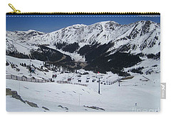 Arapahoe Basin June 2  Carry-all Pouch by Fiona Kennard