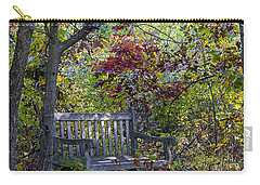 Arboretum Bench Carry-all Pouch