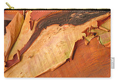 Carry-all Pouch featuring the photograph Arbutus by Kathy Bassett
