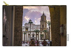 Arc Of The Rose Cadiz Spain Carry-all Pouch