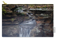 Arch Bridge In The Fog Carry-all Pouch