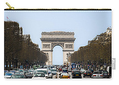 Arch Of Triumph In Paris Carry-all Pouch