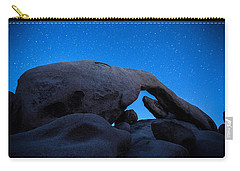 Arch Rock Starry Night 2 Carry-all Pouch by Stephen Stookey