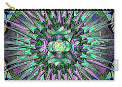 Archangels Gather Mandala Carry-all Pouch