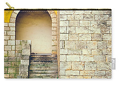 Carry-all Pouch featuring the photograph Arched Entrance by Silvia Ganora