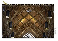 Arched Trusses - University Of Florida Chapel On Lake Alice Carry-all Pouch