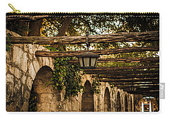 Arches At The Alamo Carry-all Pouch by Melinda Ledsome
