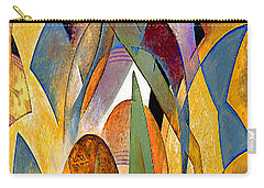 Carry-all Pouch featuring the mixed media Arches by Rafael Salazar