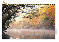 Carry-all Pouch featuring the photograph Arching Tree On The Current River by Marty Koch
