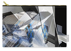 Architectural Abstract Carry-all Pouch by Wayne Sherriff