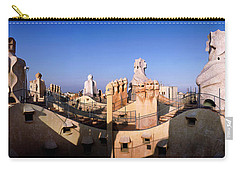 Architectural Details Of Rooftop Carry-all Pouch
