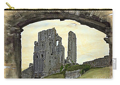Archway To History Carry-all Pouch by Linsey Williams